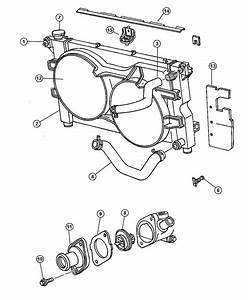 2011 Jeep Liberty Radiator  Engine Cooling  Magneti