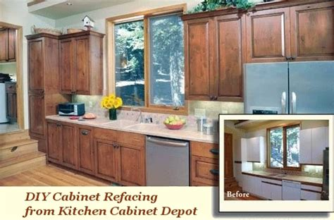 Cabinet Refacing Kit Diy by Cabinet Doors And Refacing Kitchen Cabinet Depot