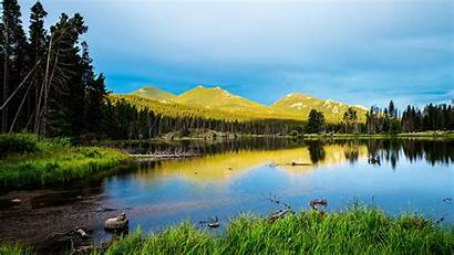 Rocky Mountains Park National Wallpapers Nature 4k