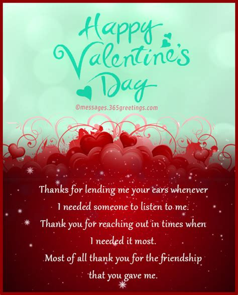 Valentine's Day Greetings for Friends