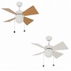 beacon ventilateur de plafond breezer blanc avec eclairage With carrelage adhesif salle de bain avec eclairage a led 12 volts