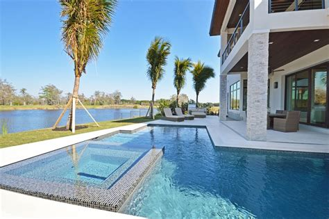 bureau concept maison de vacances exotiques avec vue sur l eau en