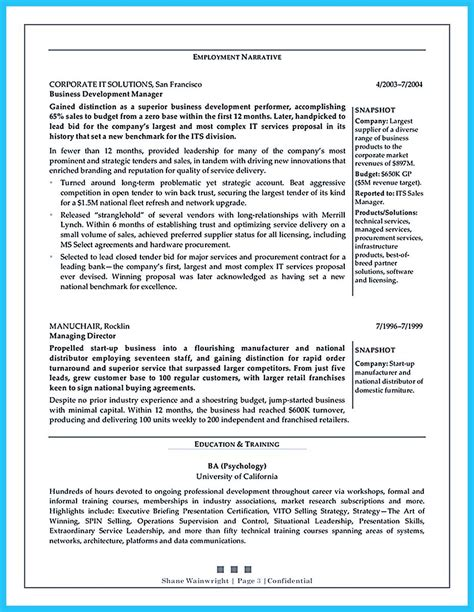 Resume Objective For Business Development by Marvelous Things To Write Best Business Development Manager Resume