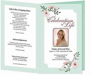 free editable funeral cards online read With free editable funeral program template