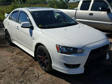 Mitsubishi Lancer Gt For Sale by 2010 Mitsubishi Lancer Gts For Sale At Copart Moncton Nb