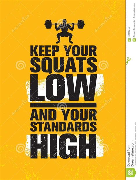 squats    standards high workout