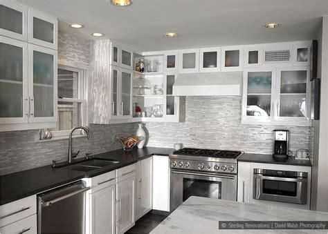 backsplash tile for white kitchen glass marble mixed white kitchen backsplash tile this