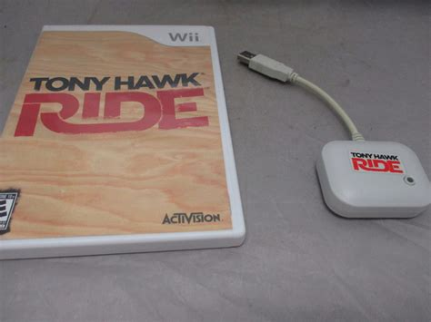 Tony Hawk Ride Video Game For Nintendo Wii Bundle W Usb