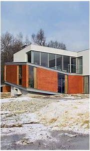Polish House - Modern Architecture Poland, Broken House ...