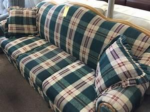 green plaid sofa 317 sofas the furniture barn ia With algona furniture barn