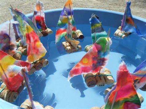 best 25 preschool transportation crafts ideas on 599 | bbf082b9ac103555ad5411e7bf5f0f60 water tray making boats