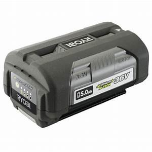 Batterie Ryobi 36v : 36v pro garden tools ryobi battery 36v 5ah lithium ion ~ Farleysfitness.com Idées de Décoration