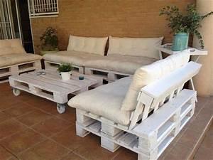 Paletten Lounge Anleitung : mobel aus paletten selber bauen ~ Whattoseeinmadrid.com Haus und Dekorationen