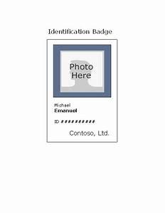 self expiring secure laser name badges visitor name badge template
