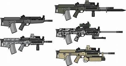 Rifle Assault Enfield Sa L85 Weapons Carbine