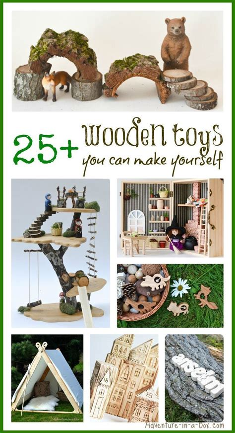 wooden toys     homemade toys