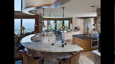 curved kitchen island designs youtube