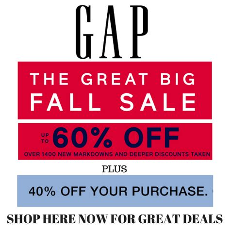 40% off Gap Coupon Code ~ ~Jeans for $20 and more deals ...