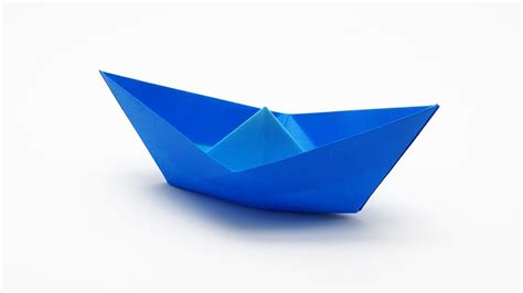 Origami A Boat by Traditional Origami Boat