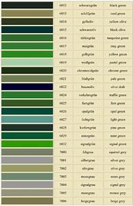 Grün Ral Töne Bildergalerie Ideen