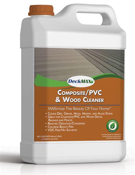 deckmax compositepvc wood deck cleaner  railing