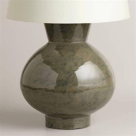 ceramic base table ls gray ceramic table l base world market