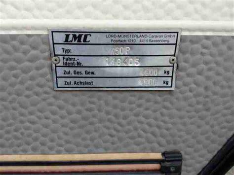 lmc 450 p dominant wohnwagen dusche vorzelt wohnwagen wohnmobile