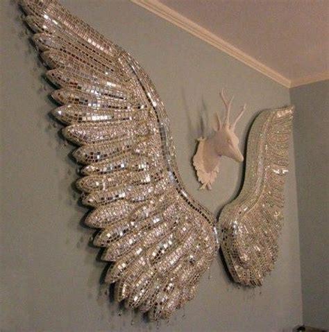 Top 20 Angel Wings Wall Art   Wall Art Ideas