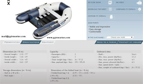 Zodiac Boat Uae by My Test Page Zodiac Boat Specifications