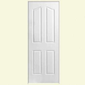 prehung interior doors home depot masonite textured 4 panel arch top hollow core primed composite single prehung interior door