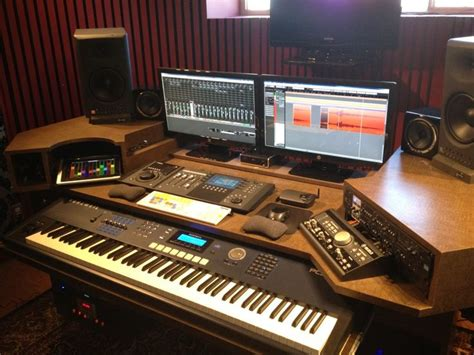 custom recording studio desk finally building my new studio desk gearslutz com
