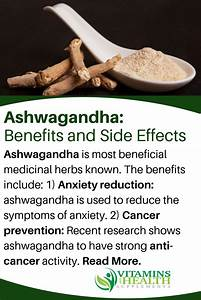 Ashwagandha  Uses  Benefits And Side Effects