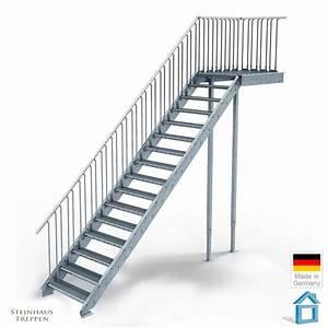 Außentreppe Sanieren Kosten : au entreppe stahl mit 16 steigungen in 80 cm stufenweite ~ Lizthompson.info Haus und Dekorationen