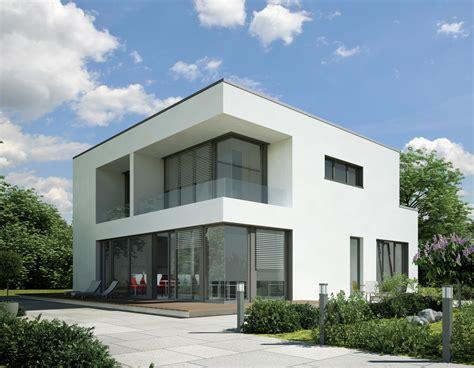 Moderne Häuser Würfel by Haus Kubus Weiss Geputzt Intofloor