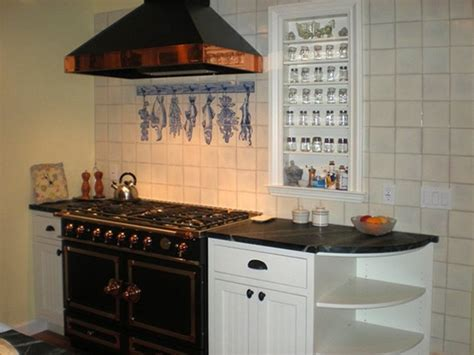 Kitchen Wall With Artistic Tiles Panel, Portuguese Hand
