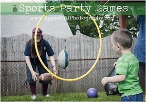Sports Party Games. Fun sports games to play with the kids ...
