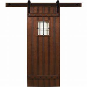 Steves & Sons 24 in x 90 in Tuscan III Stained Hardwood