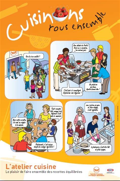 affiche atelier cuisine les ateliers cuisine