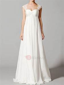 wedding dresses simple empire waist chiffon wedding With simple maternity wedding dresses