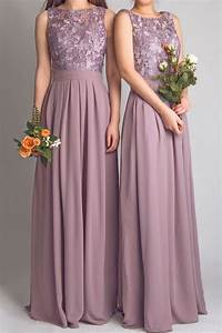 scoop lace simple long bridesmaid dresses 2015 floor With elegant wedding party dresses