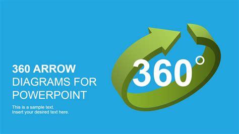 arrows powerpoint diagrams slidemodel