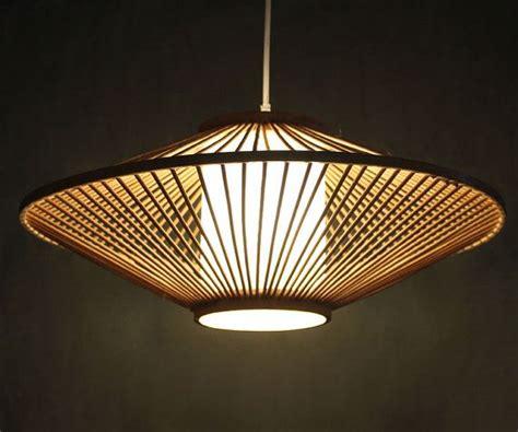 creative bamboo  parchment pendant lamp