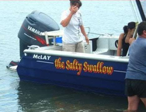 Salty Dog Boat Name by Funny Boat Names Pictures