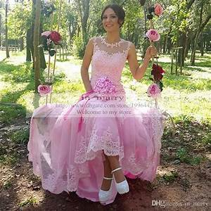princess pink vintage lace mermaid wedding dresses 2016 With pink plus size wedding dresses