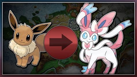 Pokémon X and Y   How To Evolve Eevee Into Sylveon - YouTube