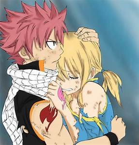 (Fairy Tail) Natsu and Lucy Hugging by ZootraGames on ...