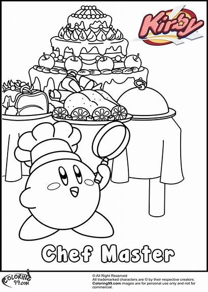 Coloring Pages Xbox Kirby Printable Cool Getcolorings