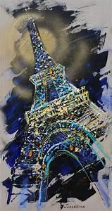 Peinture De Paris Poissy : 25 best ideas about peinture de la tour eiffel on ~ Premium-room.com Idées de Décoration