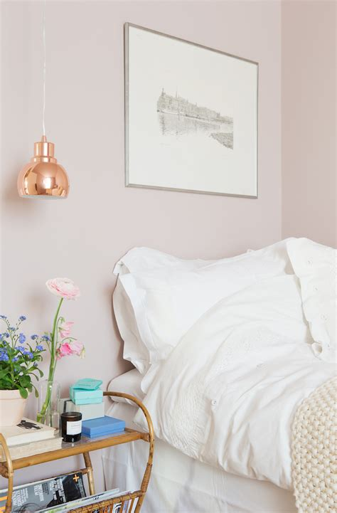 bedroom with pink walls 14 eye catching blush pink copper home decor ideas 14476