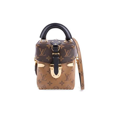 authentic  hand louis vuitton reverse monogram